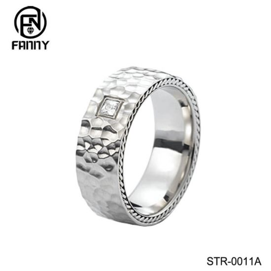 China Hammered Stainless Steel Ring Manufacturer