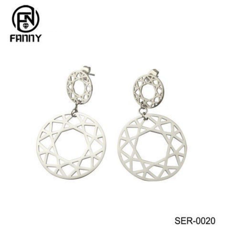 Personalized Geometric Stainless Steel Stud Earrings