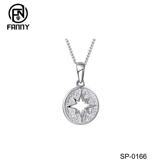 North Star Sterling Silver Pendant Necklace Factory