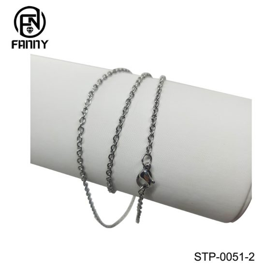 Simple 316 Stainless Steel Necklace O-Chain