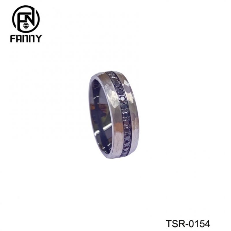 Newly Designed Men's Tungsten Carbide Ring Factory Outlet